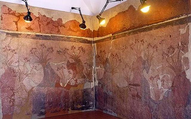 Греция Санторини Музей Сантозеум