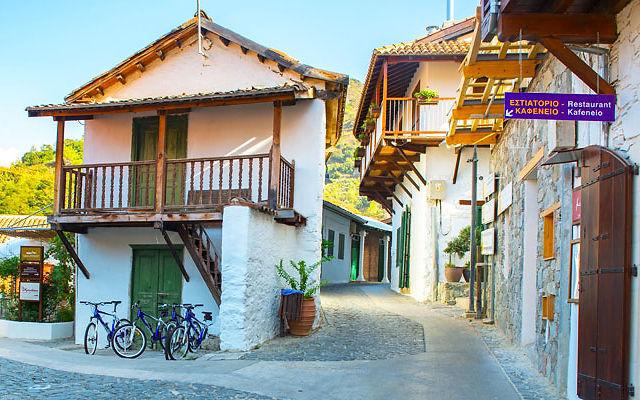 Достопримечательности Кипр Деревня Калопанайотис