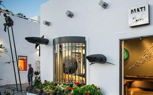 Греция Санторини Арт-галерея Mati в Фире