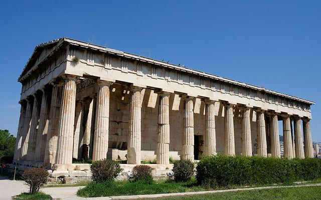 Греция Храм Гефеста