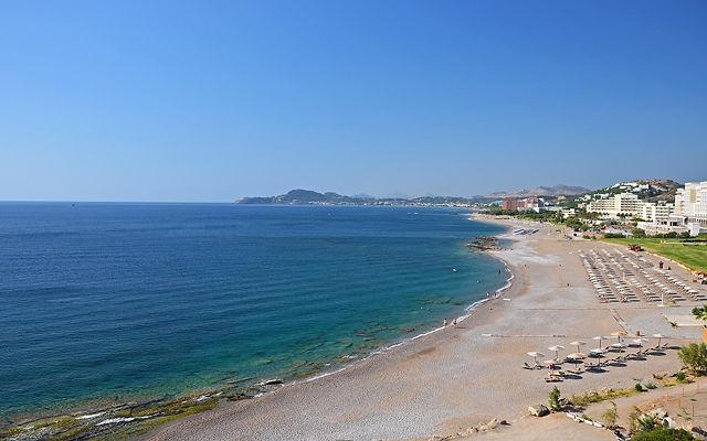 Греция Родос Пляж Фалираки