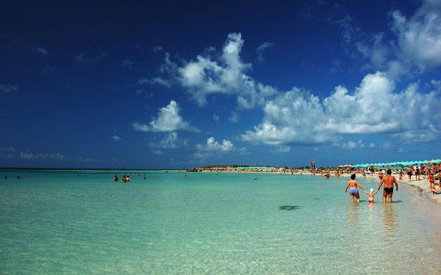 Греция Крит Пляж Элафониси область Ханья
