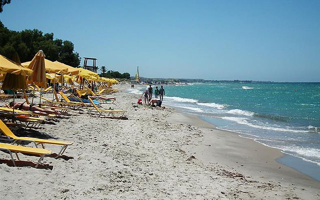 Греция Кос Пляж Мармари