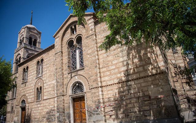 Греция Русская церковь «Святого Никодима и Святой Троицы» в Афинах