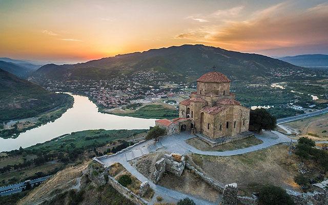 Грузия Монастырь Джвари Мцхета