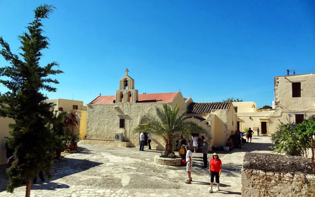 Греция Крит Монастырь Богородицы Одигитрии Сивас