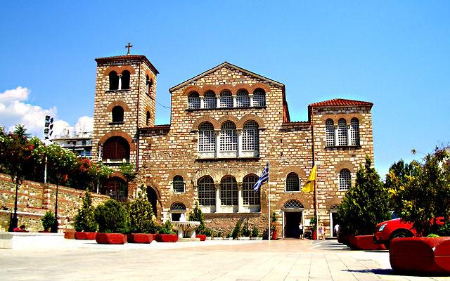 Греция Базилика Святого Димитрия