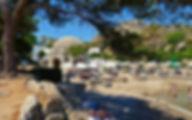 Греция Родос Лечебные источники Каллифеи