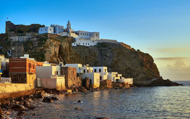 Греция Родос Остров Нисирос