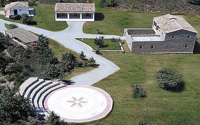 Греция Кос Старинный дом - Гиппократ сад Мастихари
