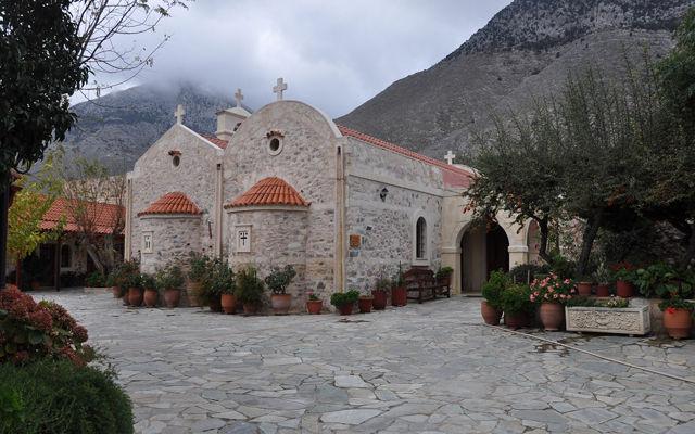 Греция Крит Монастырь Святой Ирины