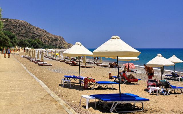 Кипр Пляж Писсури (Лимассол)