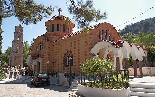 Греция Родос Церковь Святого Нектария на Родосе
