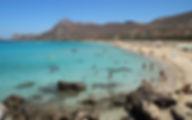 Греция Крит Пляж Фаласарна область Ханья
