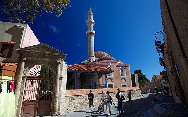 Греция Родос Мечеть Сулеймана