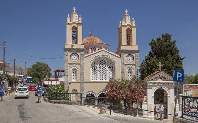 Греция Родос Деревня Сианна