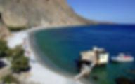 Греция Крит Пляж Глика Нэра область Ханья