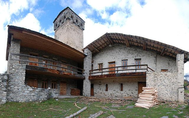 Грузия Музей Михаила Хергиани Сванетия