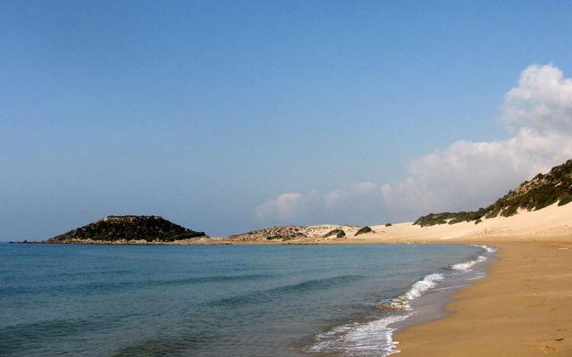 Кипр Пляж Голден Бич (Северный Кипр)