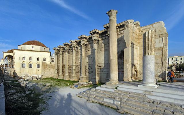 Греция Библиотека Адриана