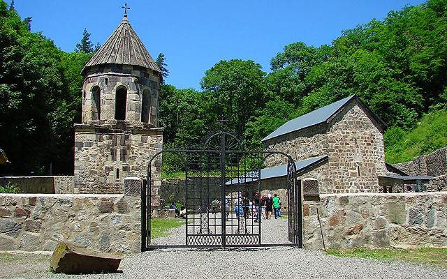 Грузия Зеленый монастырь Ахалцихе
