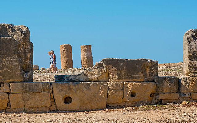 Кипр Территория Археологических Раскопок Палепафос