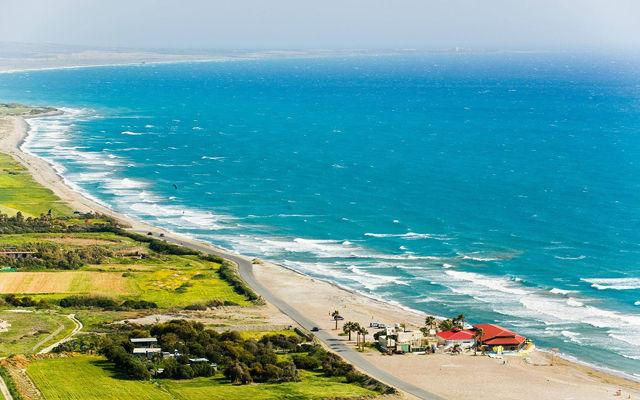 Кипр Пляж Куриона (Лимассол)