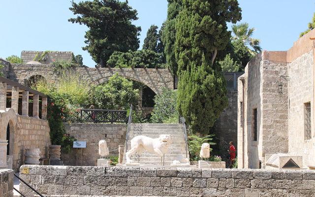 Греция Родос Археологический музей Родоса