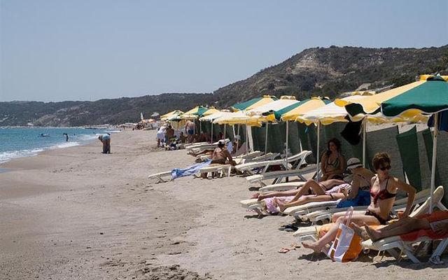 Греция Кос Пляж Магия Бич Кефалос