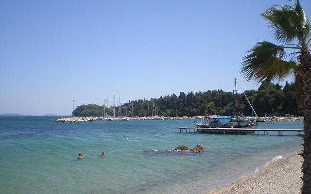 Греция Корфу Ипсос