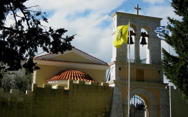 Греция Корфу Монастырь Святой Параскевы римской