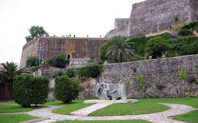 Греция Корфу Новая Крепость