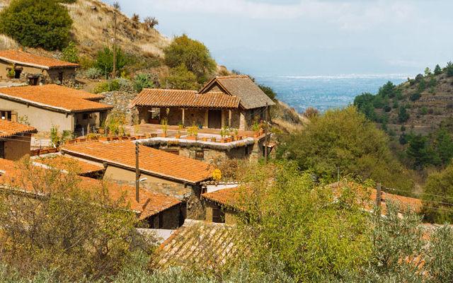 Достопримечательности Кипр Деревня Фикарду