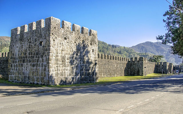 Грузия Гонио-Апсаросская крепость Аджария