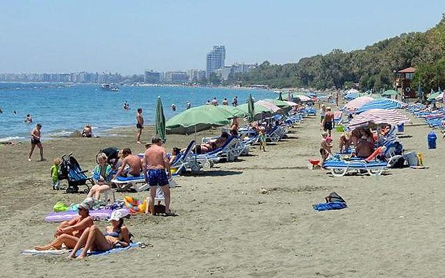 Кипр Пляж Дасуди Бич (Лимассол)