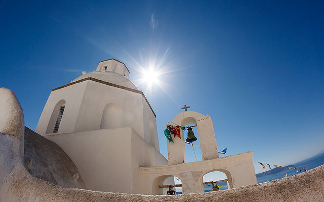 Греция Санторини Церковь Агиу Мина