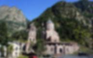 Грузия Дарьяльский монастырь Мцхета-Мтианетия
