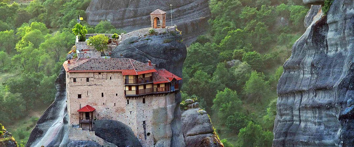 Греция Монастыри и храмы