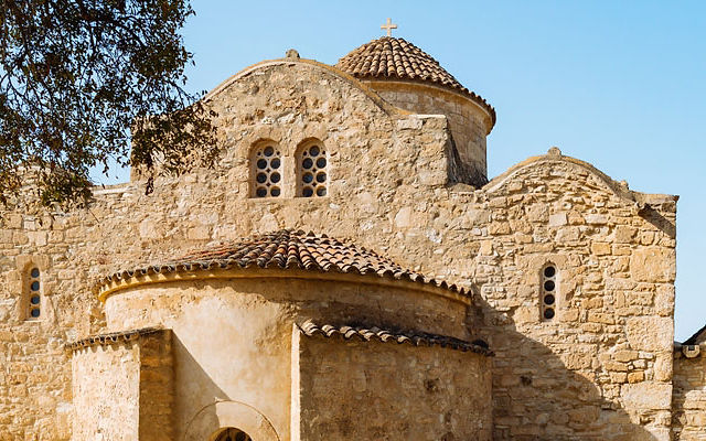 Кипр Церковь Ангелоктисти