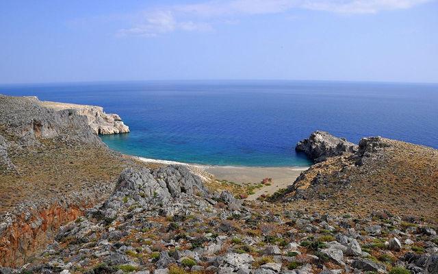 Греция Крит Пляж Трафулас область Ираклион