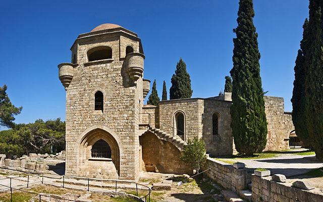 Греция Родос Филеримский монастырь