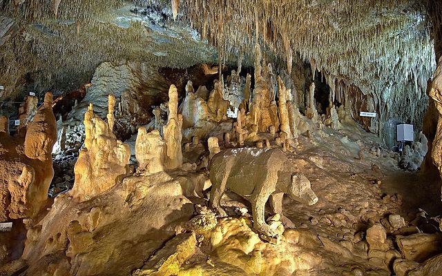 Греция Халкидики Петралонская пещера