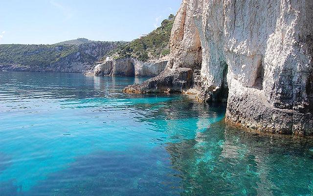 Греция Закинф Пещеры Кери