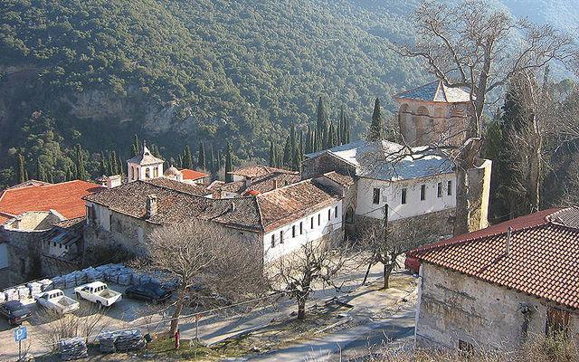 Греция Монастырь Святого Иоанна Крестителя Серре