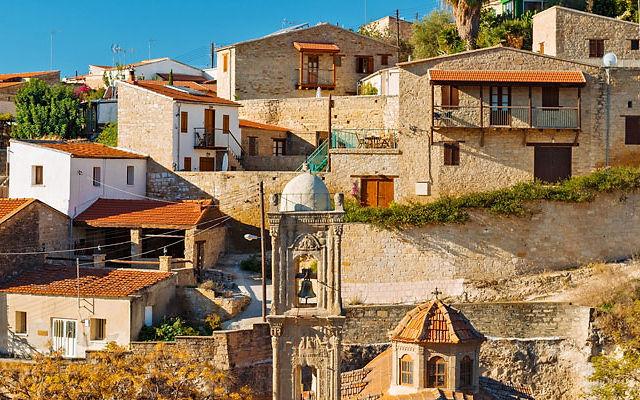Достопримечательности Кипр Деревня Тохни