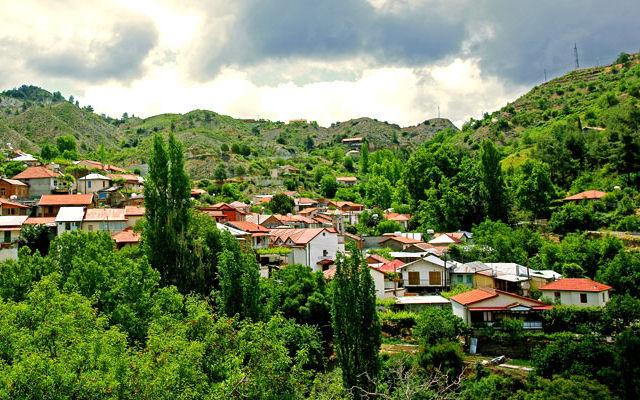 Достопримечательности Кипр Деревня Фини