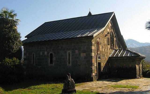 Грузия Монастырский комплекс Шемокмеди Гурия