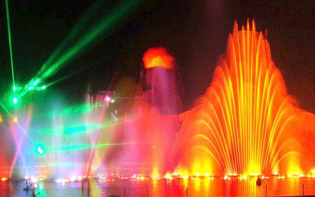 Кипр  Шоу Танцующих фонтанов в Протарасе
