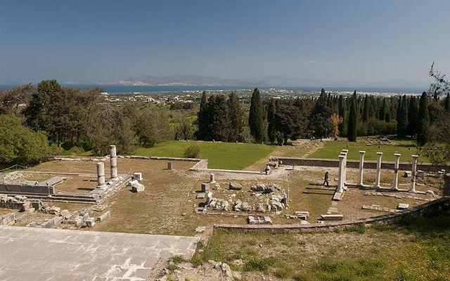 Греция Кос Святилище Асклепия (Асклепион)