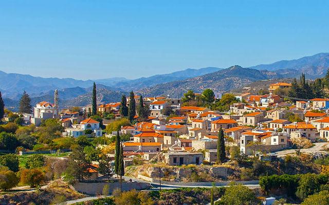 Достопримечательности Кипр Деревня Като Дрис